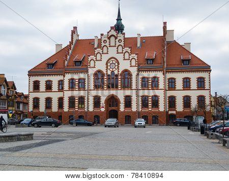 Pisz Town Hall, Poland, Masuria