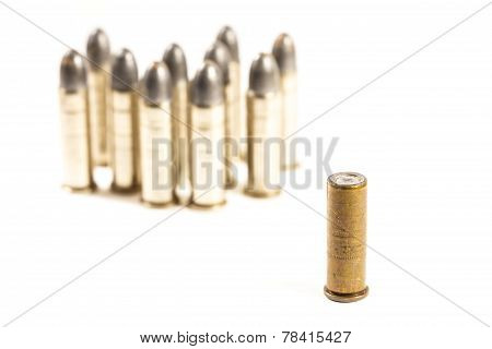 Think Different (group Of Bullets And Single Bullet