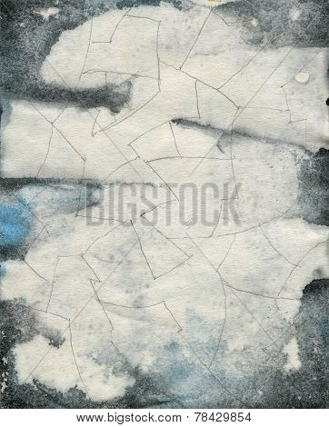 Abstract Grunge Watercolor Texture