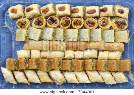 Baklava - traditional Arabic dessert