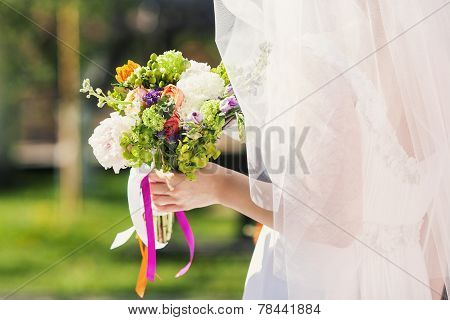 Bride Outdoors