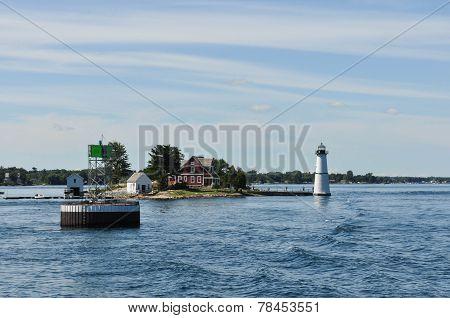 Rock Island Lighthouse, Thousand Islands