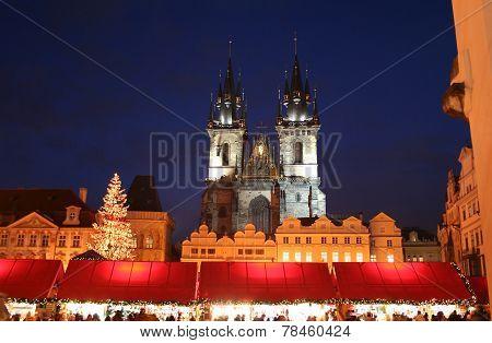 Christmas Fair At Virgin Mary's Temple