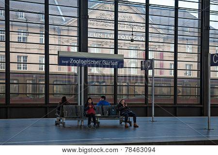 Berlin Zoo Garten railway station.