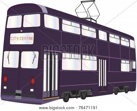 Double Deck Tramcar