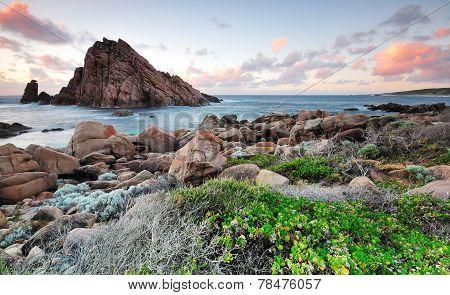 Sugarloaf Rock Sunset Western Australia