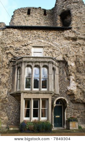 Residential Dwelling Embedded In Bury St. Edmunds Abbey Ruins