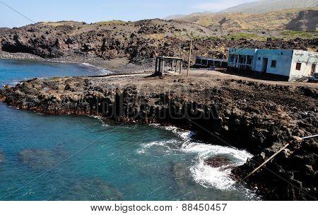 Beach House Over Baia