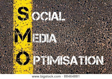 Social Media Acronym Smo As Social Media Optimisation