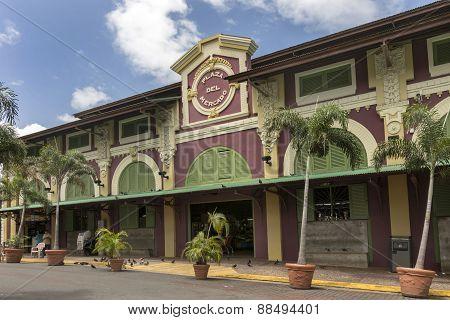 Public Market Place In Santurce Neighborhood.