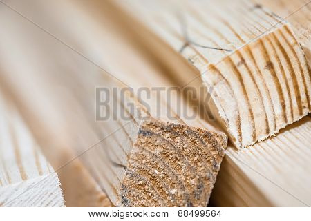 Wooden Beams And Planks