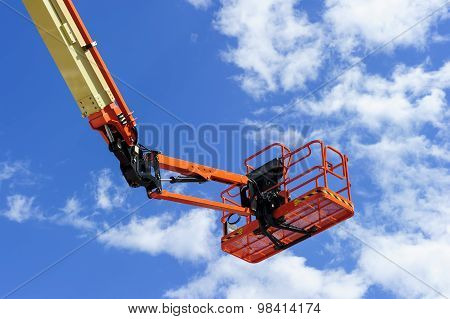 Construction cherry picker