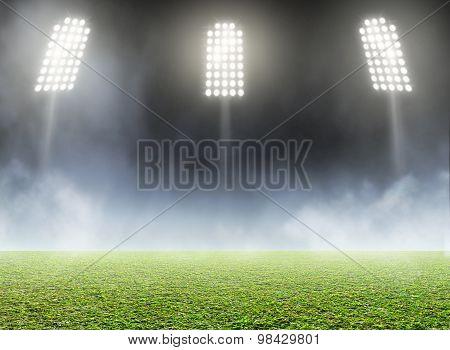 Stadium Outdoor Floodlit