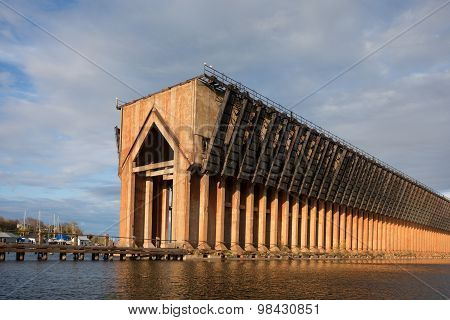 Abandoned Ore Dock On Lake Superior - Marquette Michigan