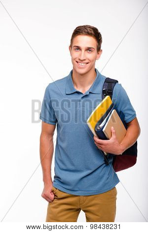 Concept for young student boy