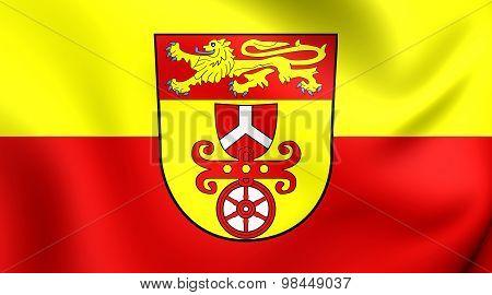 Flag Of Gottingen Landkreis, Germany.