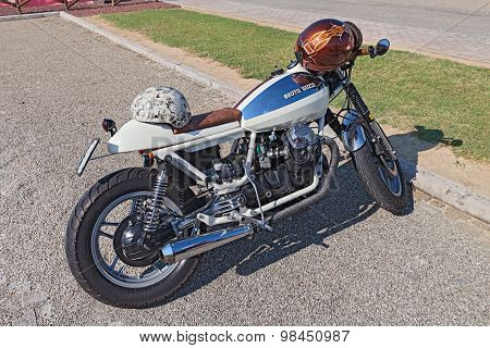vintage Moto Guzzi V35 cafe racer