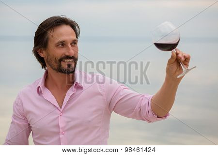 Man winemaker