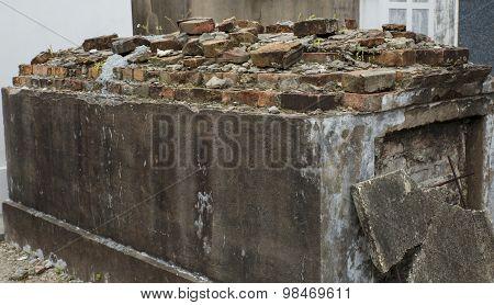Grave Above Ground