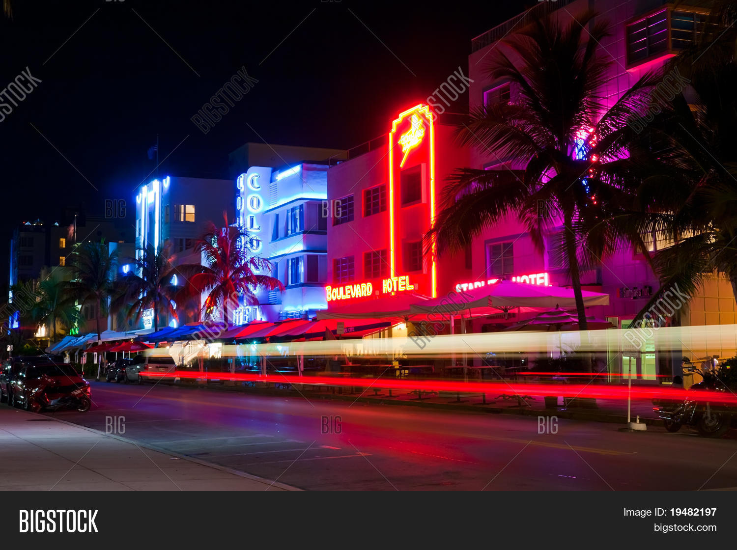 Miami Beach Circa Image Photo Free