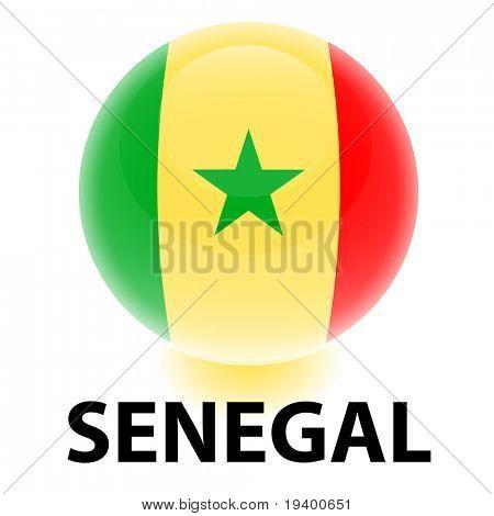 Orb Senegal Flag