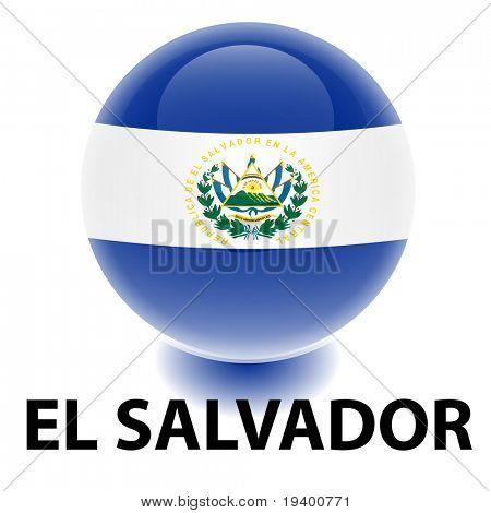 Orb El Salvador Flag