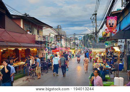 Pai Night Market, Thailand