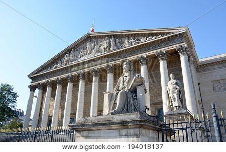 National Assembly, Paris