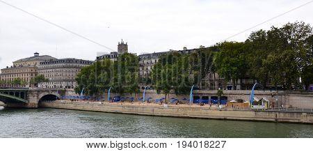 Paris-plages, Paris