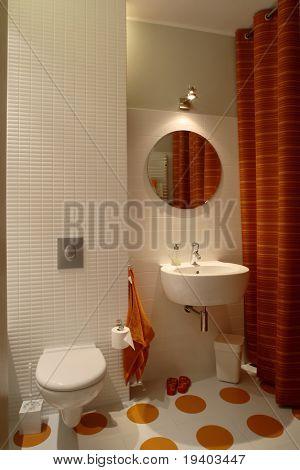 Bathroom for children in a modern house.