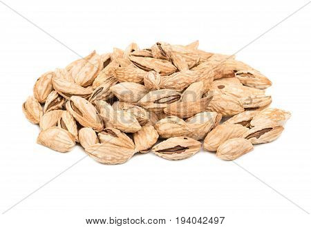 Pile Of Uzbek Almonds