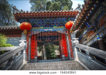 Shaolin Is A Buddhist Monastery