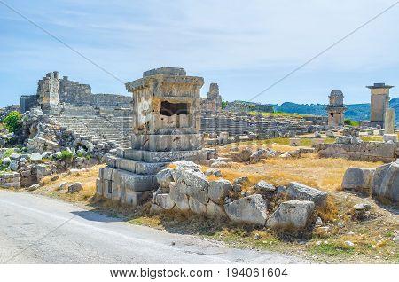 Visiting Ancient Xanthos