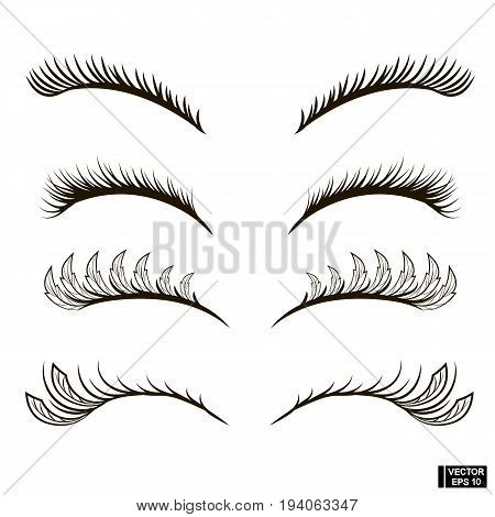 Set Of Eyelashes