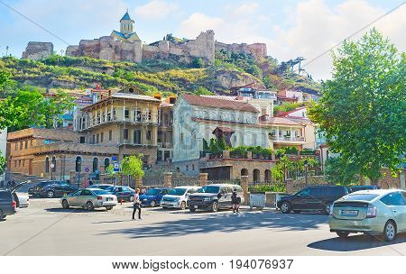 The Landmarks Of Tbilisi