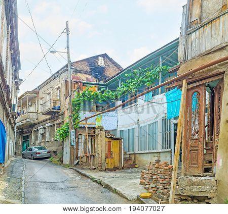 The Poor Quarters Of Tbilisi