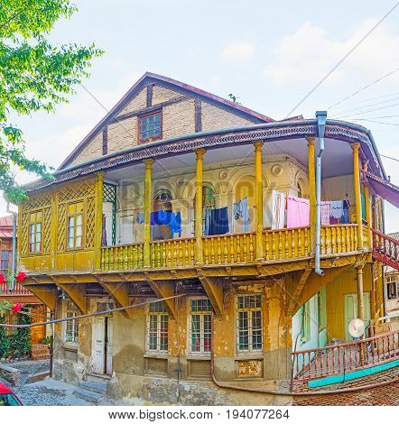 The Iconic Houses Of Tbilisi