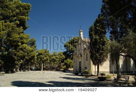 Spanish church in Biar (Alicante - Spain)