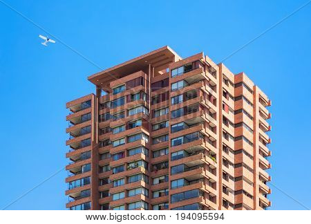Upperclass High-rise Apartment Building