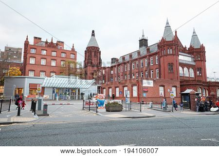 Birmingham, UK - 6 November 2016: Exterior Of The Birmingham Children's Hospital