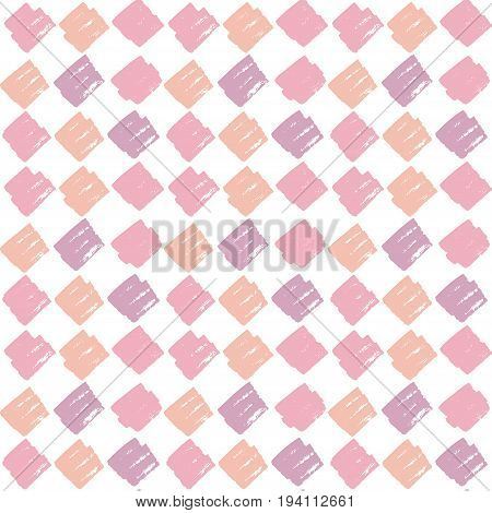 checkered pale color vector seamless pattern. illustration background