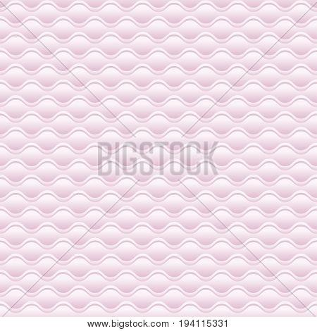elegant pale rose 3d geometric pattern vector illustration