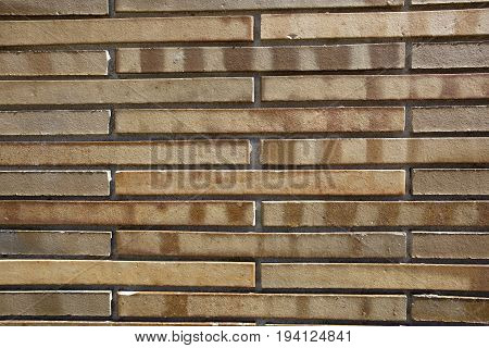 a background image of new modern bricks of a narrow design