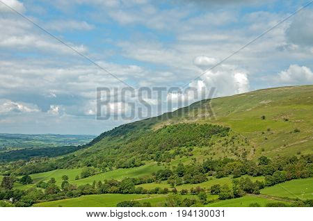 Brecon beacons national park in the summertime.
