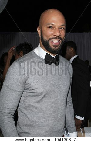 LOS ANGELES - FEB 1:  Common at the Bellafortuna Entertainment NAACP Gifting Suite at Shrine Auditorium on February 1, 2013 in Los Angeles, CA