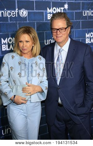 LOS ANGELES - FEB 23:  Kathy Hilton, Rick Hilton at the Pre-Oscar charity brunch by Montblanc & UNICEF at Hotel Bel-Air on February 23, 2013 in Los Angeles, CA