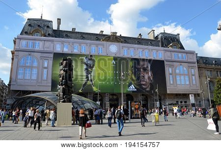 Gare Saint-lazare, Paris