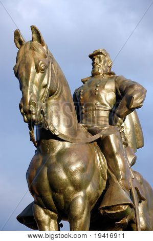 General Stonewall Jackson - Manassas Battlefield Monument