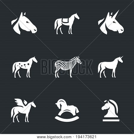 Head, gelding, unicorn, spotted, zebra, pegasus, toy, chess horse.