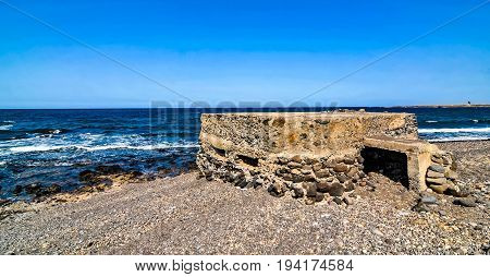 Bunker Near The Sea